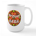 Proud BABA Large Mug