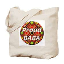 Proud BABA Tote Bag