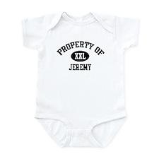 Property of Jeremy Infant Bodysuit