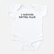 Survived Dating Allie Infant Bodysuit