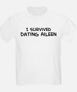 Survived Dating Aileen Kids T-Shirt