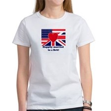 Married to a Brit! Tee