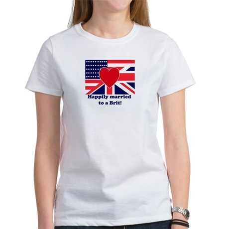 Married to a Brit! Women's T-Shirt