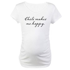 Chili makes me happy Shirt
