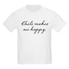Chili makes me happy T-Shirt