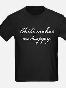 Chili makes me happy T