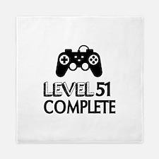 Level 51 Complete Birthday Designs Queen Duvet