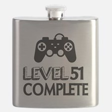Level 51 Complete Birthday Designs Flask