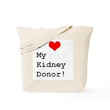 Unique Kidneys Tote Bag