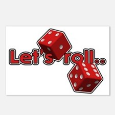 Let's Roll Postcards (Package of 8)