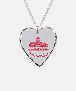 Scandal TV Show Quote Necklace