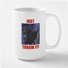 Just Throw It Mug