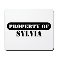 Property of Sylvia Mousepad