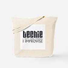 Techie Improvise Tote Bag