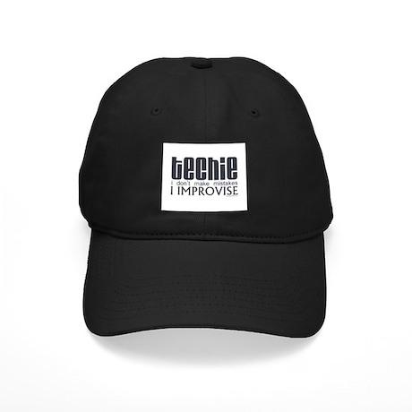 Techie Improvise Black Cap