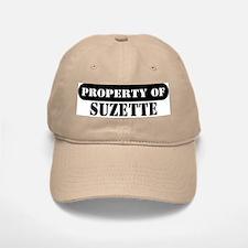 Property of Suzette Baseball Baseball Cap