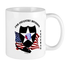 2nd Infantry Division aka Indian Head Division Mug