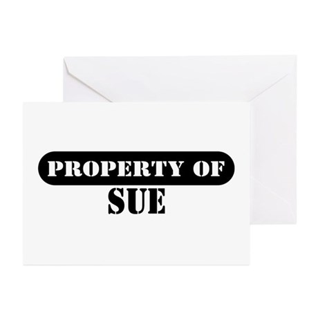Property of Sue Greeting Cards (Pk of 10)