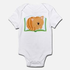 Book and Kitty Cat Infant Bodysuit