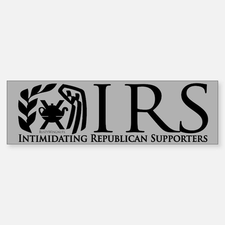 IRS Bumper Bumper Bumper Sticker