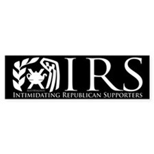 IRS Bumper Bumper Sticker