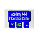 NEW! ACADEMY 411 Rectangle Magnet