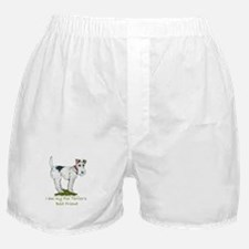 Wire Fox Terrier Boxer Shorts
