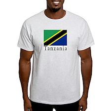 Tanzania Ash Grey T-Shirt