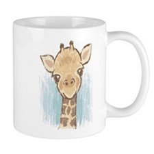 Sweet Giraffe Small Mugs