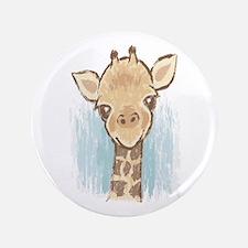 """Sweet Giraffe 3.5"""" Button"""