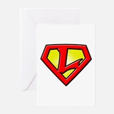 Super_L Greeting Cards (Pk of 10)