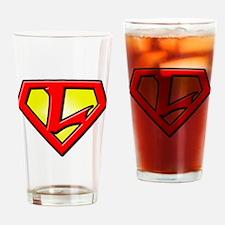 Super_L Drinking Glass