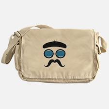 French Face Messenger Bag