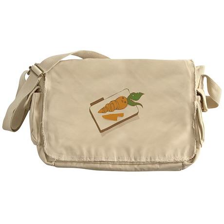 Chopped Carrot Messenger Bag