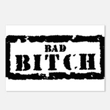 Bad Bitch Stamp Postcards (Package of 8)