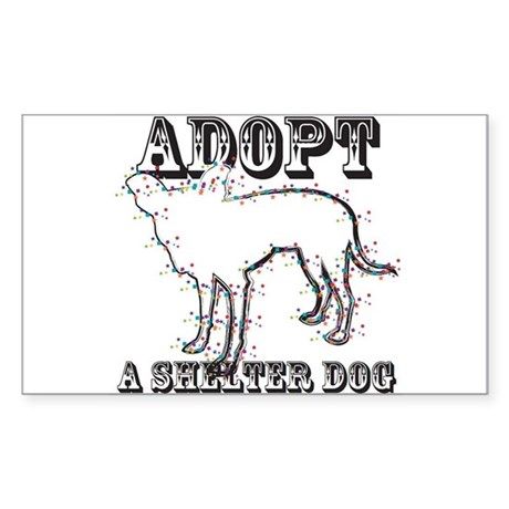 "Adopt A Shelter Dog ""Zuni"" Sticker"