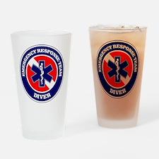 ERT Diver 1 Drinking Glass