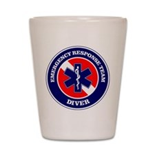 ERT Diver 1 Shot Glass