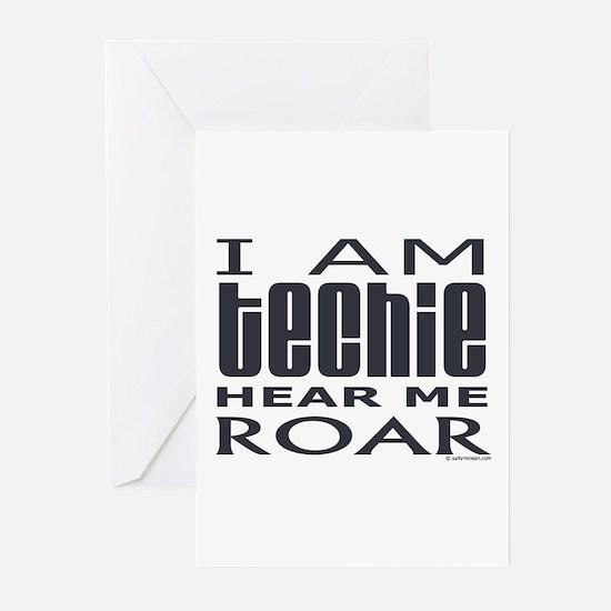 Techie Roar Greeting Cards (Pk of 10)