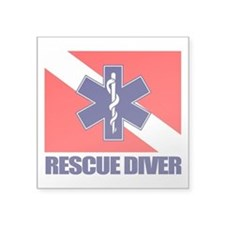 Rescue Diver (emt) Sticker