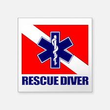 Rescue Diver (emt) Sticker