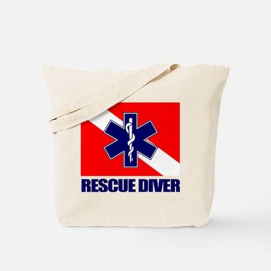 Rescue Diver (emt) Tote Bag