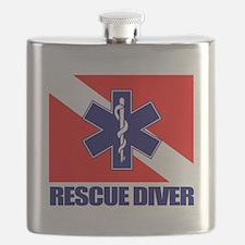 Rescue Diver (emt) Flask
