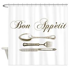 Bon appetite Shower Curtain