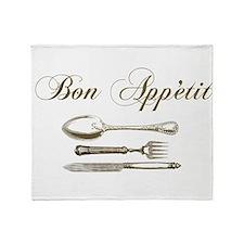Bon appetite Throw Blanket