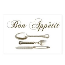 Bon appetite Postcards (Package of 8)