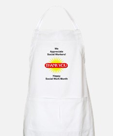 Social Work Appreciation BBQ Apron