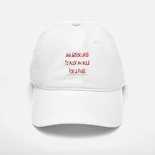 Muck My Mule Baseball Baseball Cap