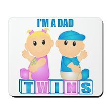 I'm A Dad (BBG:blk) Mousepad