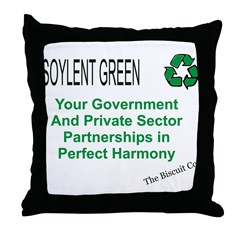 Soylent Green Throw Pillow